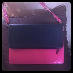 Handbags - Hot Pink Shoulder Bag